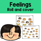 Feelings roll and cover - An emotion identification game