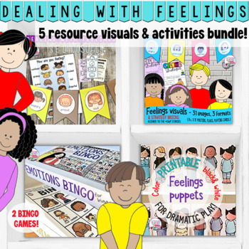 Feelings visuals and activities: Dealing With Feelings