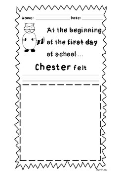 Feelings with Chester English and Spanish FREEBIE
