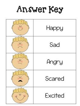 Feelings/Emotions BINGO
