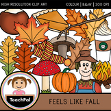 Feels Like Fall - Autumn / Fall Clip Art
