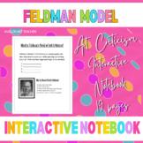 Feldman's Model of Art Criticism Interactive Notebook Pages