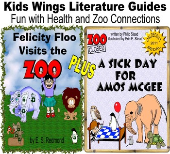 Felicity Floo Visits the Zoo!  PLUS: A Sick Day for Amos McGee!  HEALTH & ZOO!