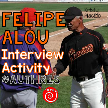 Felipe Alou Interview Listening Activity (level 2 and up)