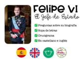Felipe VI. Jefe de Estado. Actividades. (ESP + ING)