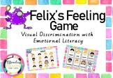 Felix's Feelings Activity - Visual Discrimination and Emotional Literacy
