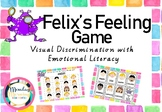Felix's Feelings Activity - Visual Discrimination and Emotional Literacy