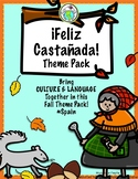 Feliz Castañada Fall Culture Theme Pack for Spanish Class Spain Celebration