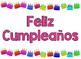 Feliz Cumpleaños - Happy Birthday Classroom Sign