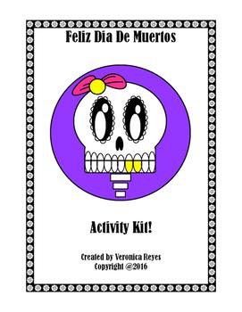 Feliz Dia De Muertos Activity Pack!