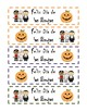 Feliz Dia de las Brujas Bookmarks - Halloween Bookmarks
