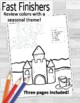 Feliz Junio- Spanish Color by Number