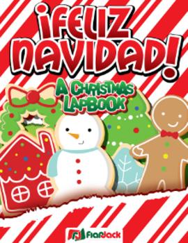 Feliz Navidad Christmas Spanish Lapbook