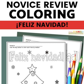 Feliz Navidad- Coloring Reviews