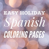 Feliz Navidad, Felices Fiestas, Prospero Año Nuevo Christmas Coloring Pages