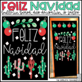 Feliz Navidad Merry Christmas Bulletin Board, Door Decor,