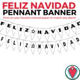 Spanish Christmas Decor - Feliz Navidad Banner