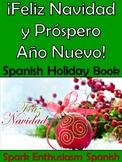 Feliz Navidad, Prospero Ano y Dia de los Reyes Magos Spanish Activity Book