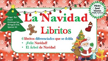 Christmas Spanish.Feliz Navidad Spanish Christmas Mini Books Spanish Bilingual