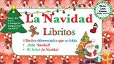 Feliz Navidad Spanish Christmas Mini Books - Spanish, Bilingual