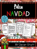 Spanish Christmas activities. Feliz Navidad.
