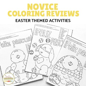 Feliz Pascua- Coloring Reviews