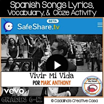 11 Spanish Songs and Worksheets for Spanish Class