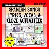 Feliz Viernes (11) Songs for Spanish Class Bundle