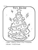 Feliz navidad worksheets  / Christmas worksheets