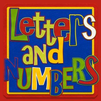 Felt Alphabet/Numbers clip art