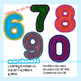 Felt Numbers and Symbols Clip Art - Clipart OK for Commercial Use