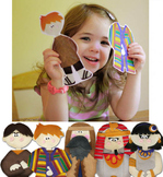 Printable Interactive Old Testament Bible Story Characters