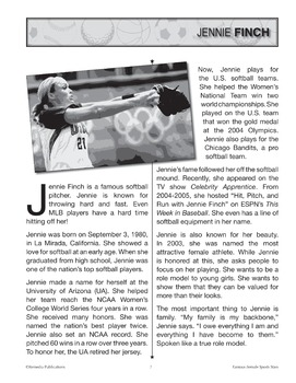 Female Athletes: Celebrity Readers