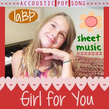 Sheet Music: Girl Power Song for singing lessons