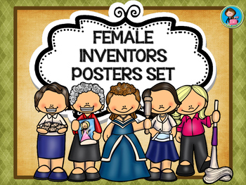 Female Inventors Posters Set