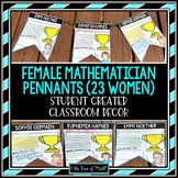 Female Mathematician Pennants