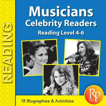 Female Musicians: Celebrity Readers