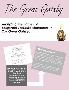 Female Name Significance in The Great Gatsby
