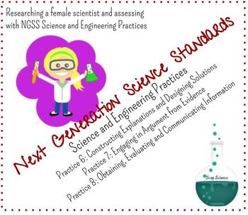 Female Scientist Research - SEP 6, 7, & 8 Assessment