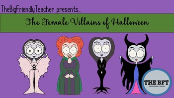 Female Villains of Halloween