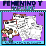 Femenino y Masculino (Only in Spanish)