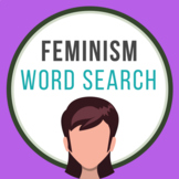 Feminism Word Search