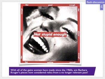 Feminist Art History ~ Women Artists ~ 164 Slides ~ Highly Visual