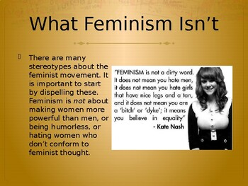 Feminist Literary Criticism - Three Lessons