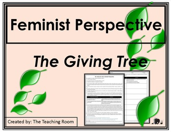 Feminist Criticism - The Giving Tree