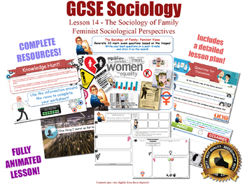 Feminist Perspectives - Sociology of Family [GCSE Sociology - L14/20] Delphy