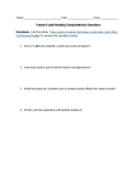 Femme Fatale Reading Comprehension Questions