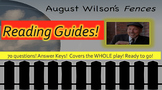 Fences Reading Guides August Wilson