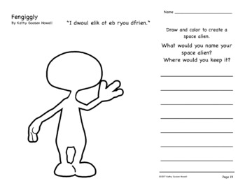 Fengiggly (Comprehension Q & A Sticks & Writing)