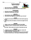Ferdinand - Bloom's Taxonomy Questions